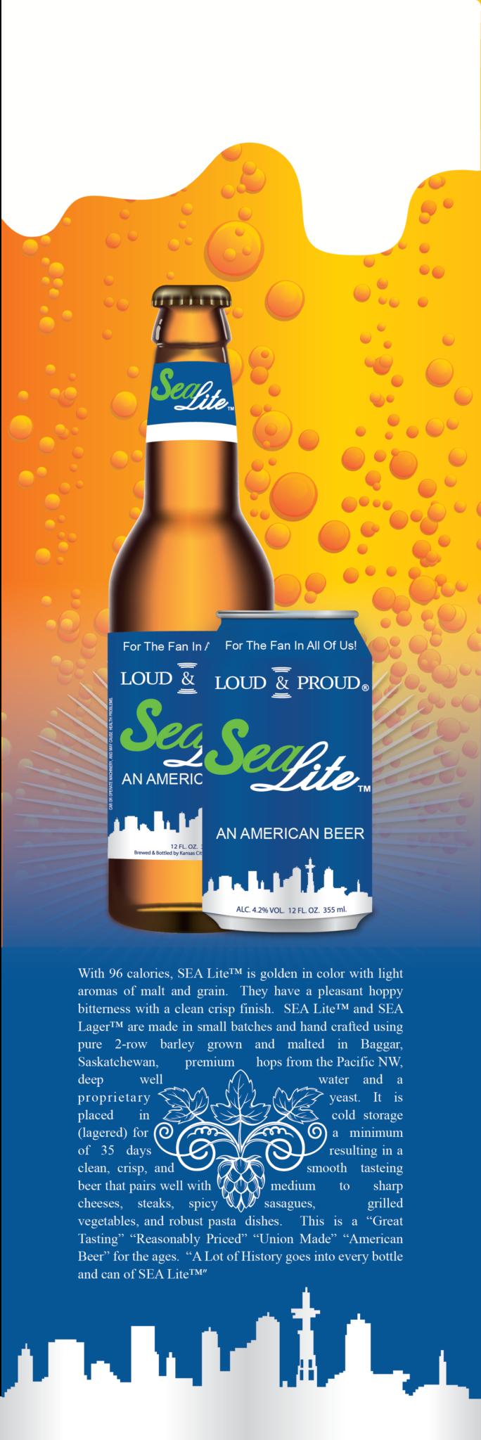 Sea Lite AN AMERICAN BEER