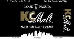 Kansas City Malt Label