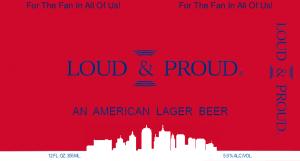 Loud & Proud Lager Label