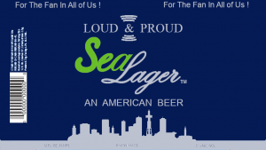 Seattle Market Lager Label