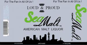 Seattle Market Malt Label